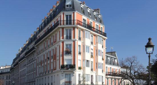 Immeuble rue Lamarck Paris 8éme
